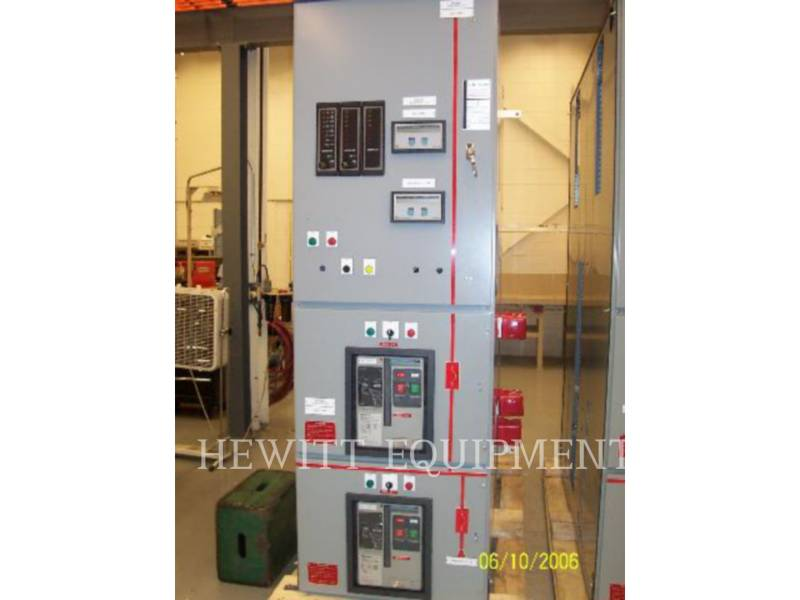 CUTTLER HAMMER COMPONENTES DE SISTEMAS SWITCHGEAR 5000A equipment  photo 4