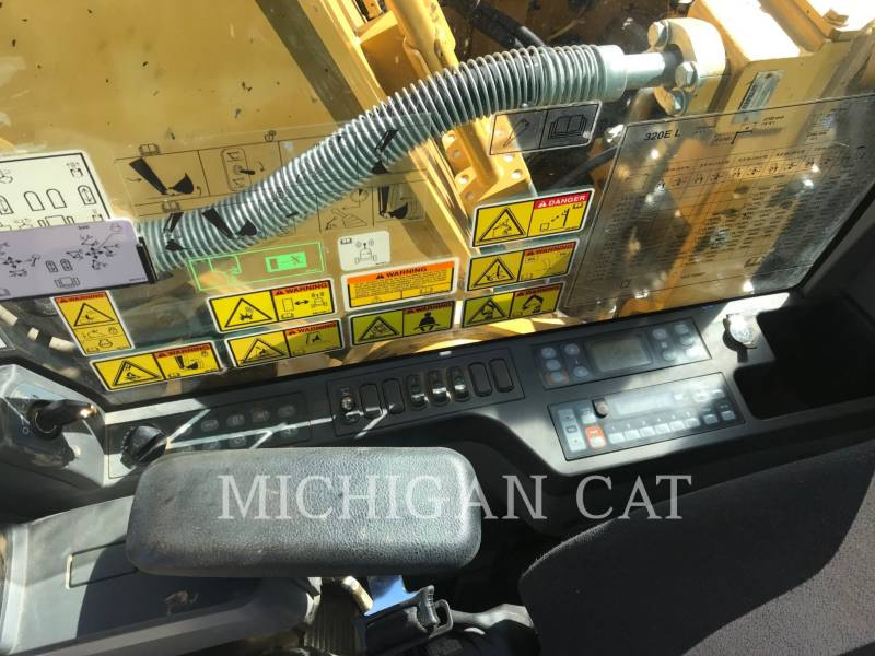 CATERPILLAR KETTEN-HYDRAULIKBAGGER 320EL PQ equipment  photo 20