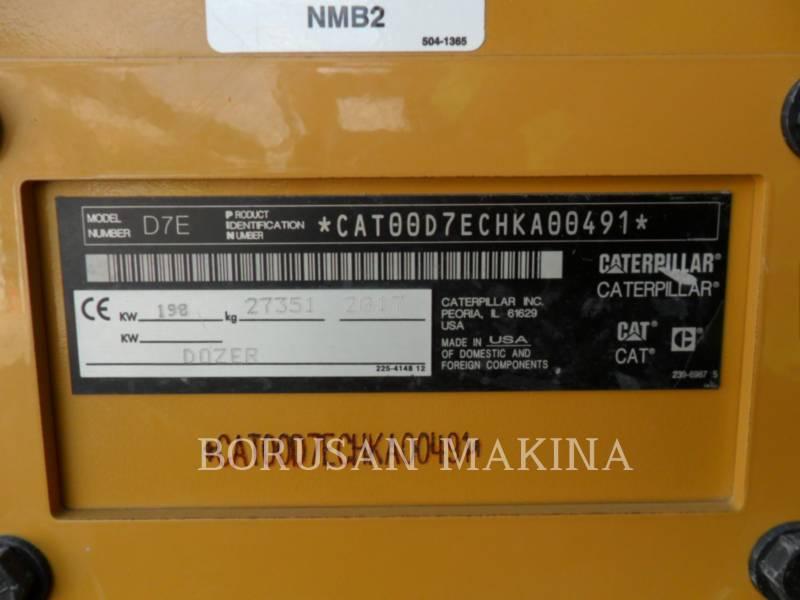 CATERPILLAR TRATTORI CINGOLATI D7E equipment  photo 5