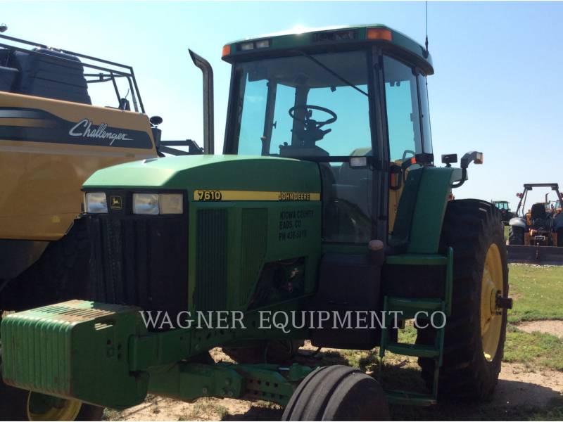 JOHN DEERE AG TRACTORS 7610 equipment  photo 1