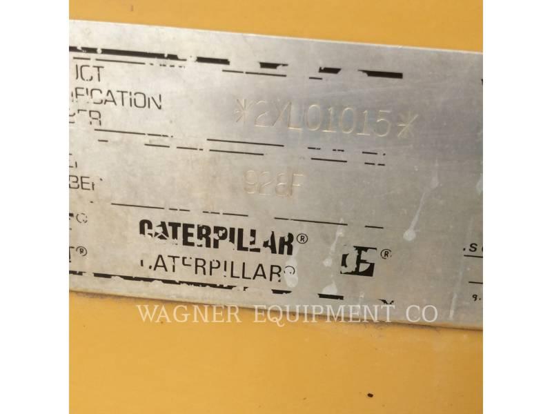 CATERPILLAR RADLADER/INDUSTRIE-RADLADER 928F equipment  photo 11