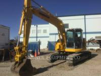 Equipment photo KOMATSU PC138USLC-2E0 KETTEN-HYDRAULIKBAGGER 1