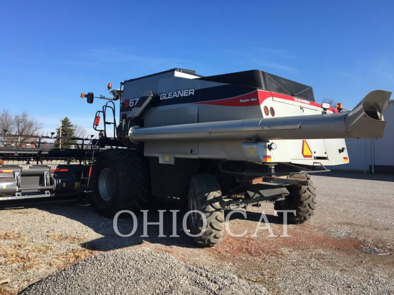 AGCO-GLEANER COMBINES S67 equipment  photo 4