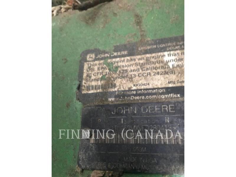 JOHN DEERE FORESTRY - FELLER BUNCHERS - TRACK 953M equipment  photo 6