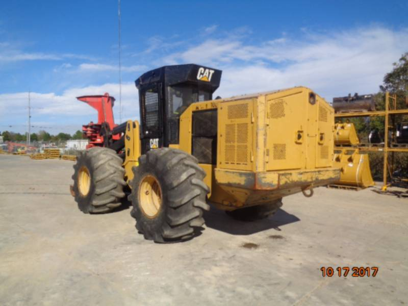 CATERPILLAR FORESTRY - FELLER BUNCHERS - WHEEL 563C equipment  photo 7