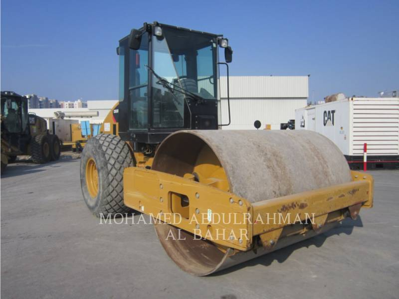 CATERPILLAR EINZELVIBRATIONSWALZE, GLATTBANDAGE CS 533 E equipment  photo 7