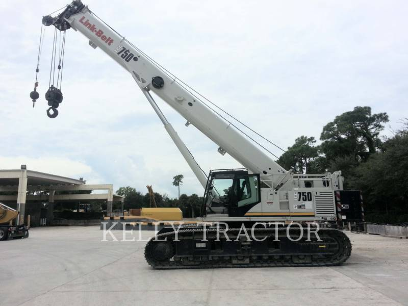 LINK-BELT CONST. CRANES TCC-750 equipment  photo 1