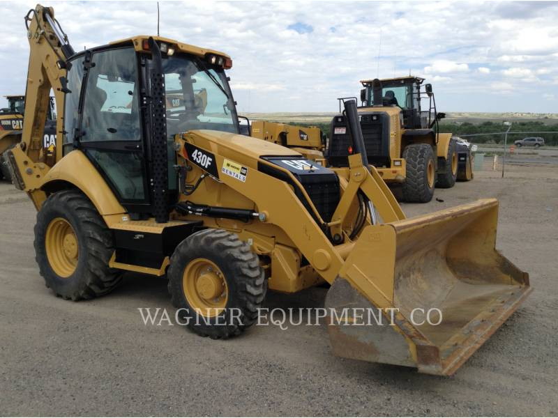 CATERPILLAR BACKHOE LOADERS 430FST equipment  photo 2