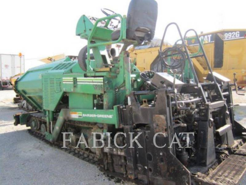 CATERPILLAR PAVIMENTADORA DE ASFALTO BG225C equipment  photo 7
