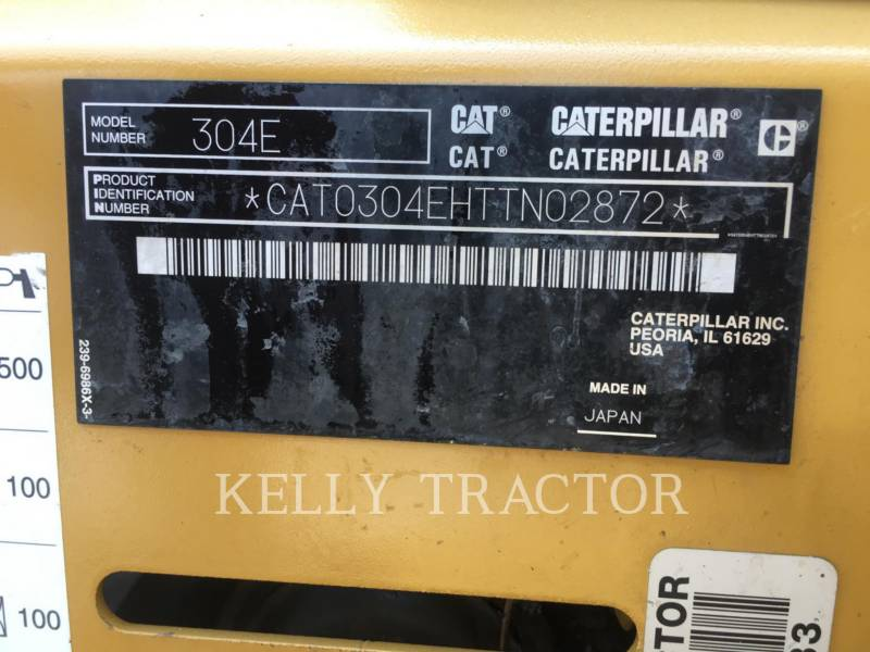 CATERPILLAR PELLES SUR CHAINES 304ECR equipment  photo 15