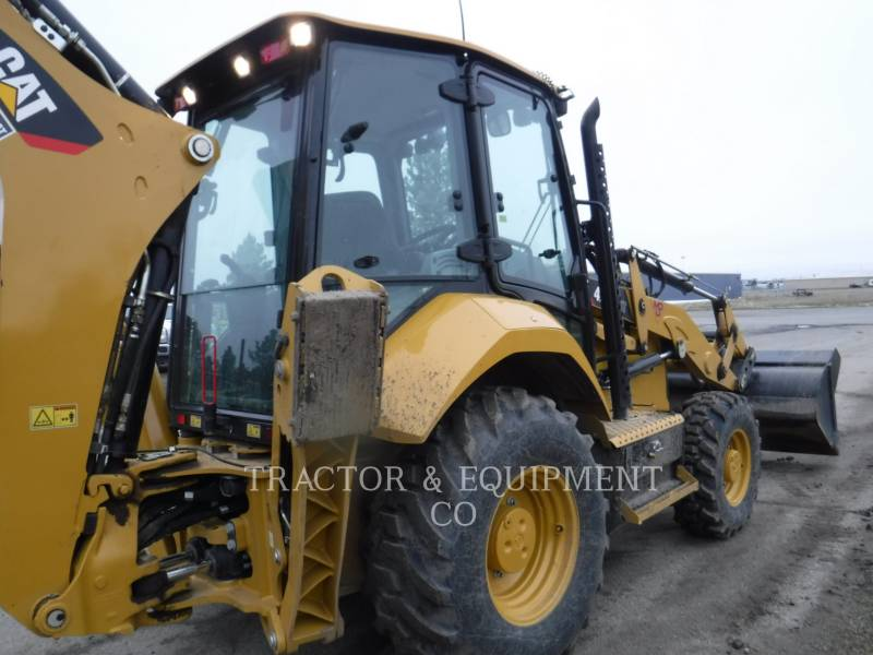 CATERPILLAR GRAAF-LAADCOMBINATIES 420F24ETCB equipment  photo 7