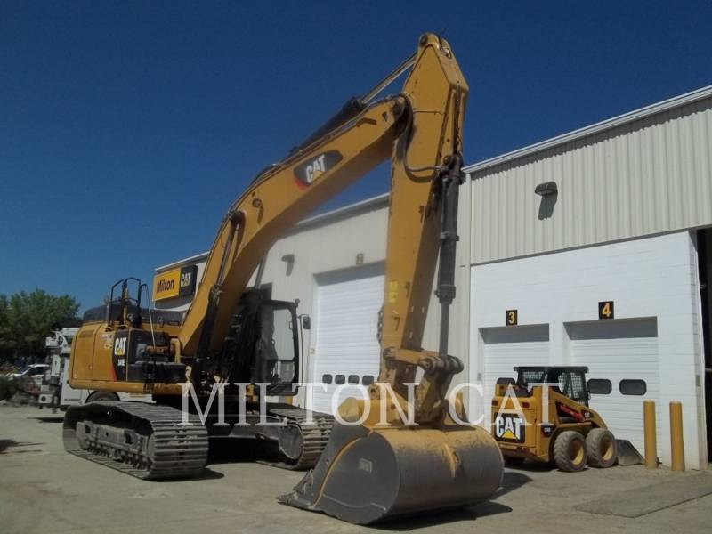 CATERPILLAR EXCAVADORAS DE CADENAS 349E L equipment  photo 2
