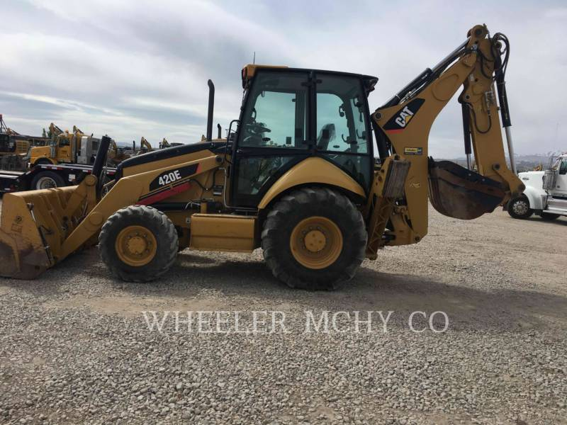 CATERPILLAR BAGGERLADER 420E E THM equipment  photo 6