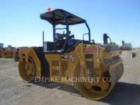 Equipment photo CATERPILLAR CB66B TANDEMOWY WALEC WIBRACYJNY DO ASFALTU (STAL-STAL) 1
