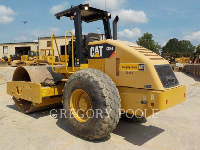 CATERPILLAR EINZELVIBRATIONSWALZE, GLATTBANDAGE CS-54 equipment  photo 9