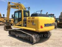 KOMATSU PELLES SUR CHAINES PC210LC1 equipment  photo 1