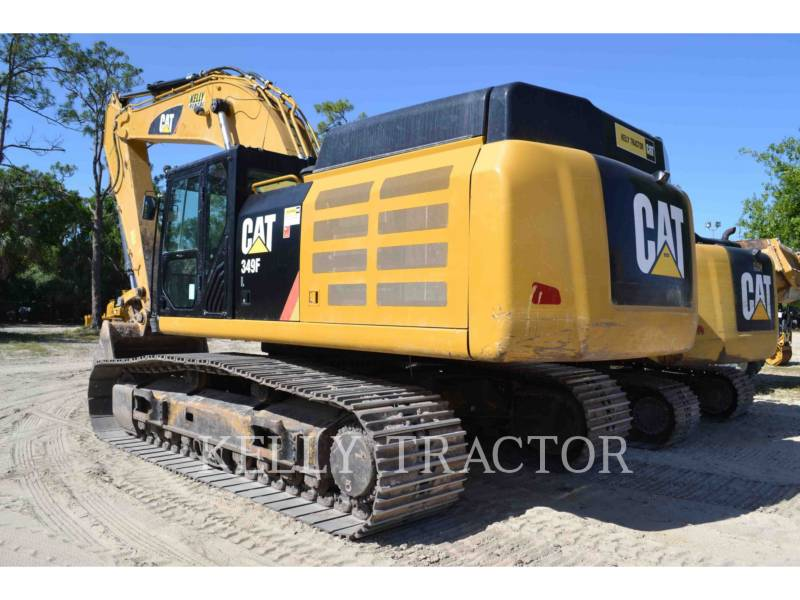 CATERPILLAR KOPARKI GĄSIENICOWE 349FL equipment  photo 3