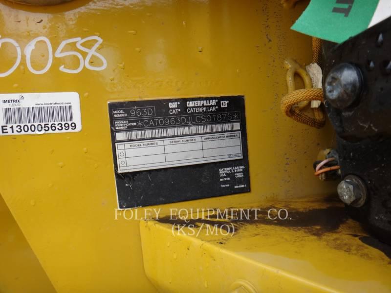 CATERPILLAR TRACK LOADERS 963D equipment  photo 5