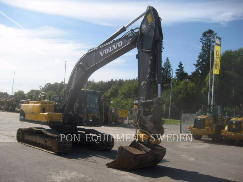 VOLVO CONSTRUCTION EQUIP BRASIL ESCAVATORI CINGOLATI EC240 CNL equipment  photo 2