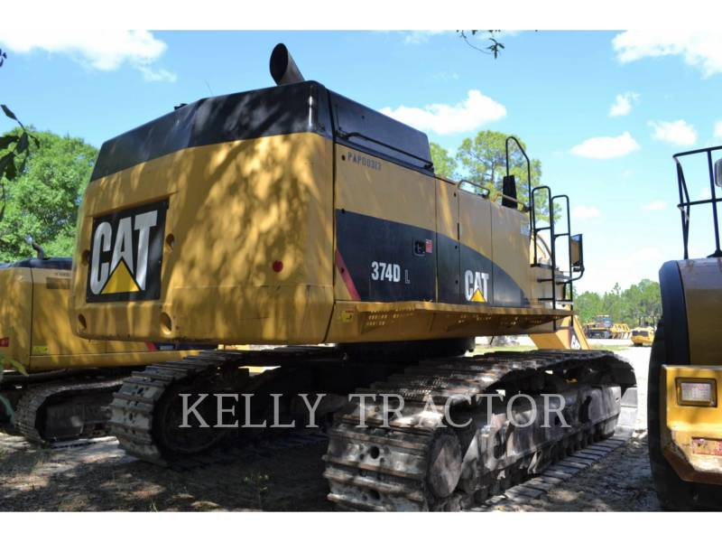 CATERPILLAR KETTEN-HYDRAULIKBAGGER 374DL equipment  photo 3