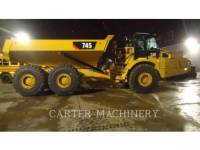CATERPILLAR KNIKGESTUURDE TRUCKS 745-04 equipment  photo 4