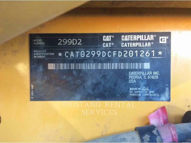CATERPILLAR CARREGADEIRAS TODO TERRENO 299D2 equipment  photo 9