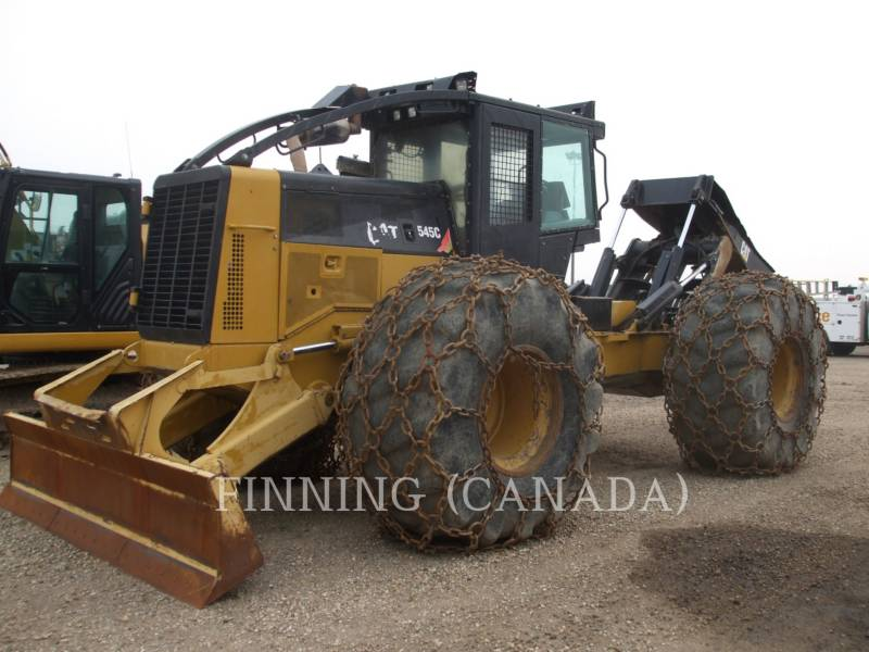 Caterpillar SILVICULTURĂ – EXCAVATOR FORESTIER 545C equipment  photo 3