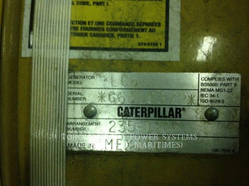 CATERPILLAR COMPONENTES DE SISTEMAS LC6124B 400KW 600V equipment  photo 3