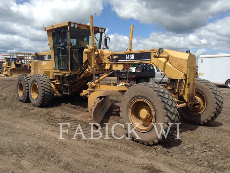 CATERPILLAR MOTOR GRADERS 143HNA equipment  photo 1