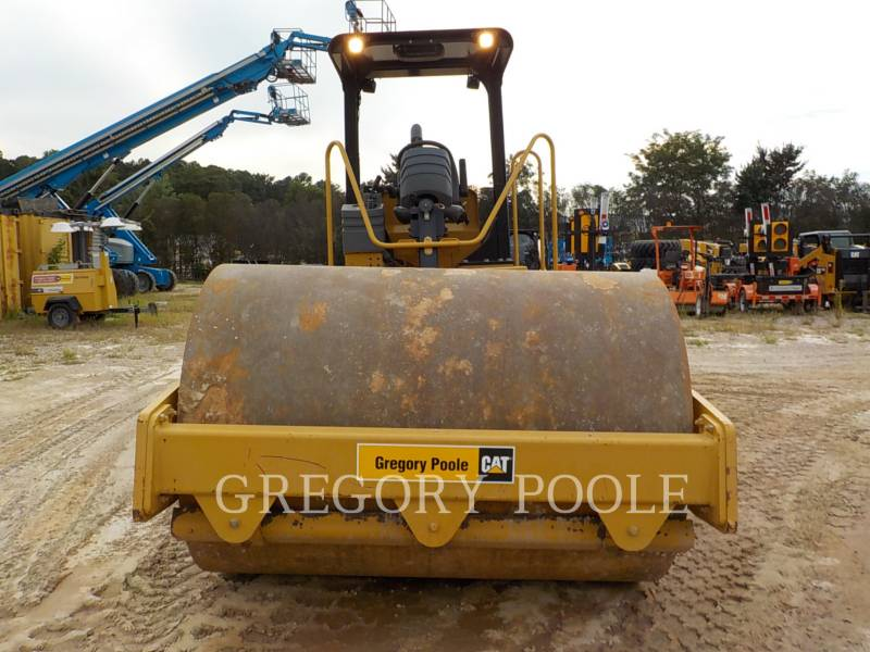 CATERPILLAR VIBRATORY SINGLE DRUM SMOOTH CS-54 equipment  photo 7