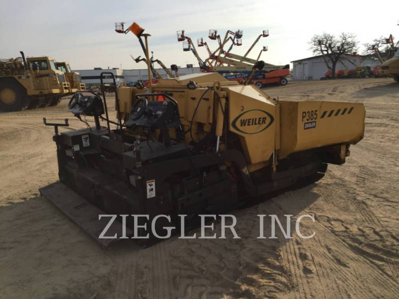 WEILER ASFALTATRICI P385 equipment  photo 1