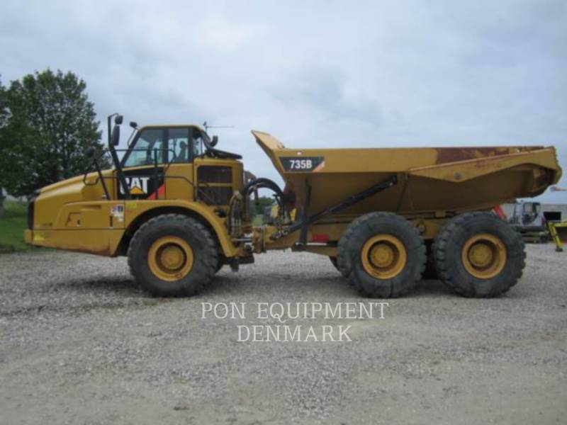 CATERPILLAR TOMBEREAUX DE CHANTIER 735B equipment  photo 4