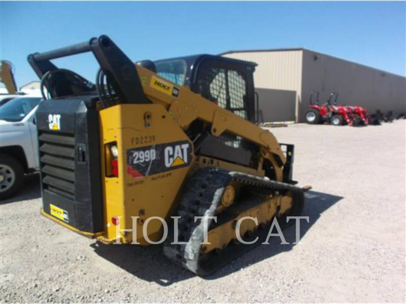 CATERPILLAR MINICARGADORAS 299D XPS equipment  photo 4