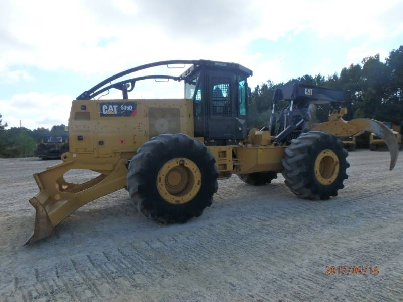 CATERPILLAR EXPLOITATION FORESTIÈRE - DÉBARDEURS 535D equipment  photo 5
