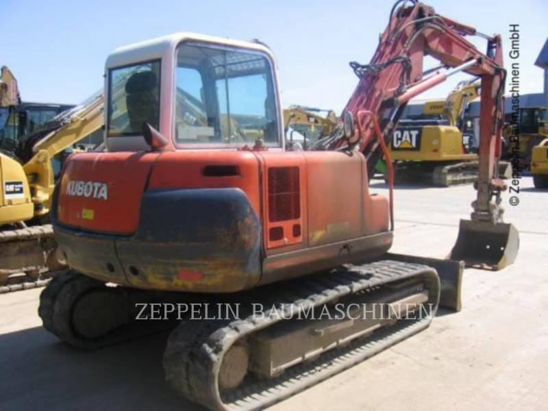 KUBOTA CORPORATION PELLES SUR CHAINES KX251 equipment  photo 5