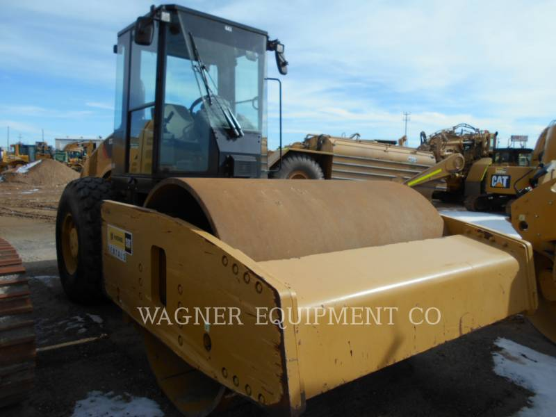 CATERPILLAR VIBRATORY SINGLE DRUM SMOOTH CS76 equipment  photo 4