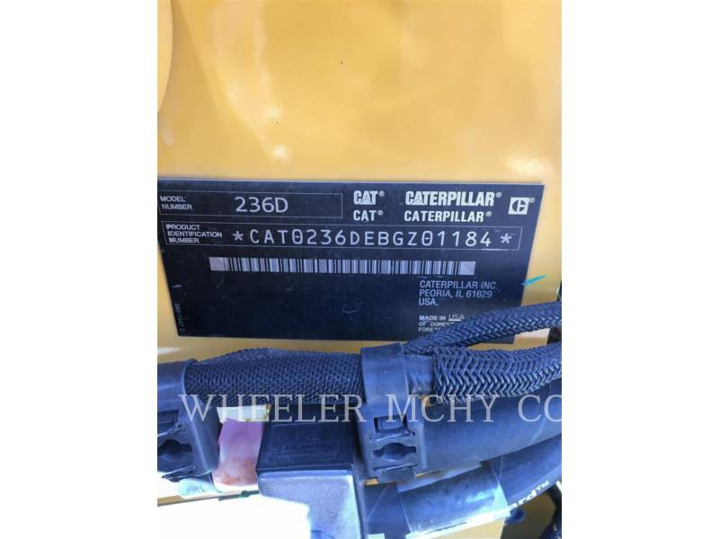 CATERPILLAR MINICARGADORAS 236D C1-H2 equipment  photo 5