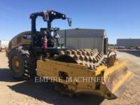 CATERPILLAR COMPATTATORE A SINGOLO TAMBURO VIBRANTE TASSELLATO CP56B equipment  photo 1