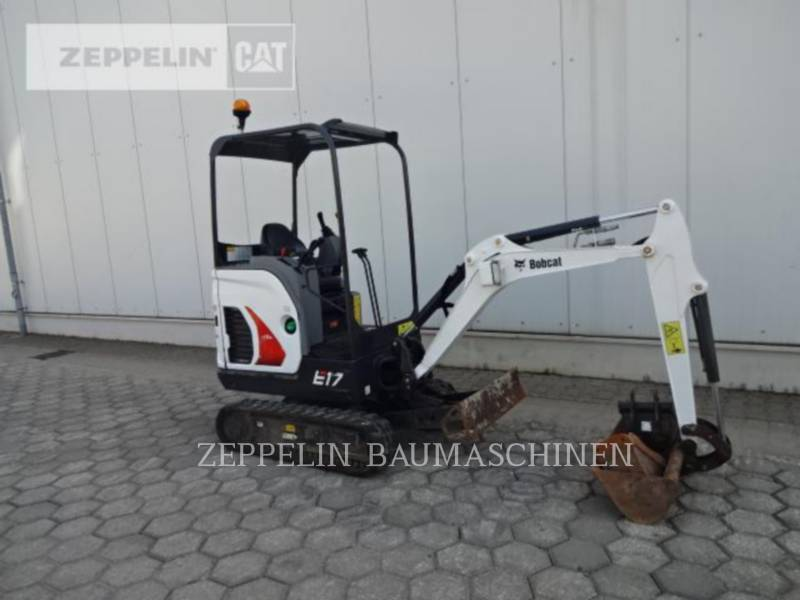BOBCAT KETTEN-HYDRAULIKBAGGER E17 equipment  photo 8