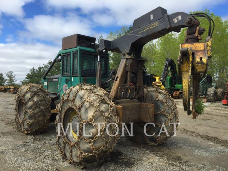 TIMBERJACK INC. SILVICULTURA - TRATOR FLORESTAL 450 equipment  photo 2