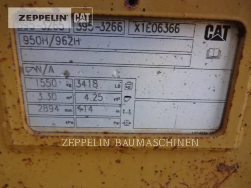 CATERPILLAR CHARGEURS SUR PNEUS/CHARGEURS INDUSTRIELS 950GC equipment  photo 11
