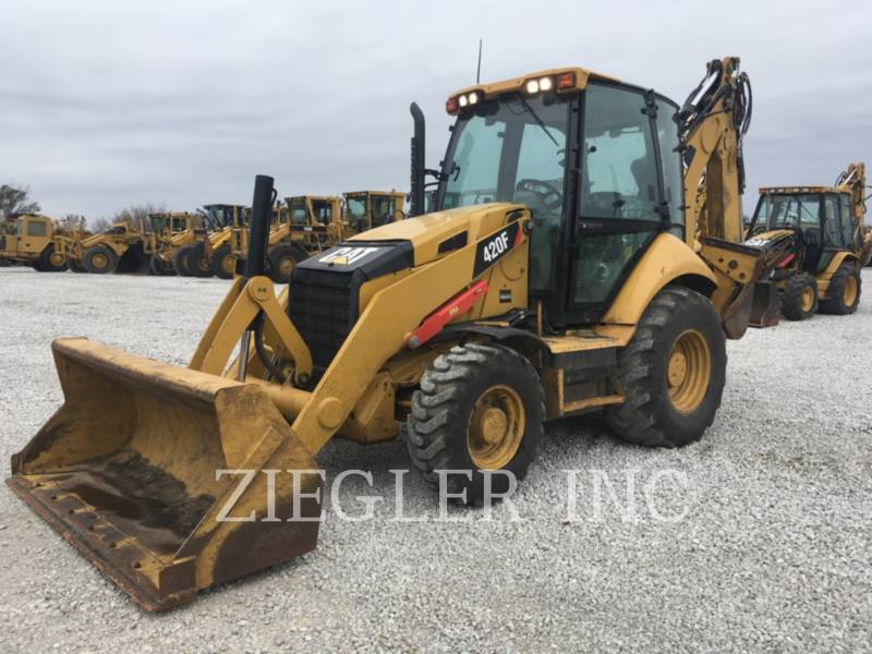 CATERPILLAR BACKHOE LOADERS 420FH2 equipment  photo 2