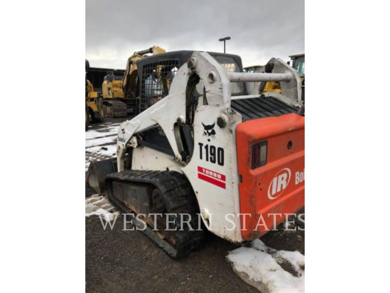 BOBCAT UNIWERSALNE ŁADOWARKI BOB T190 equipment  photo 4