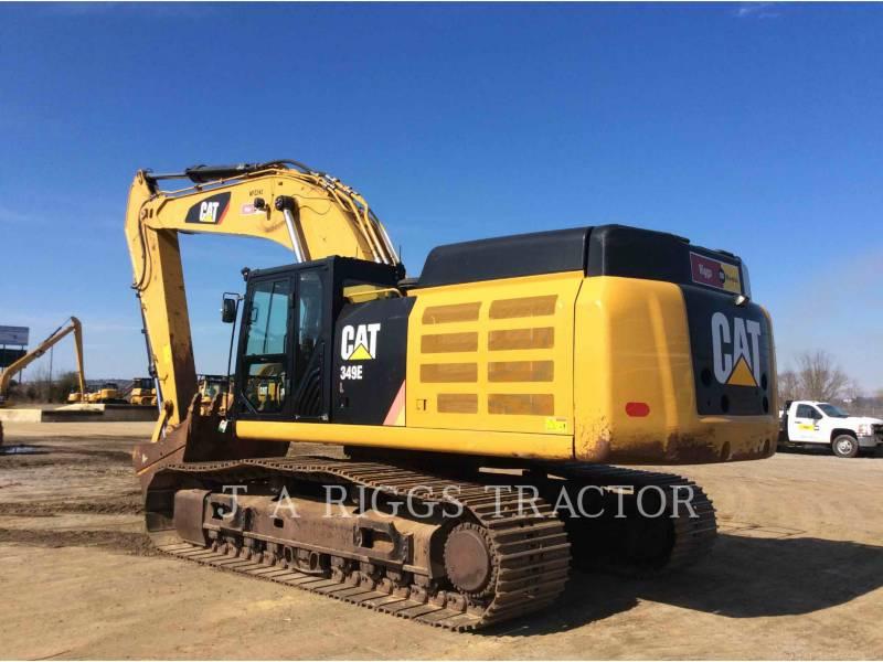 CATERPILLAR TRACK EXCAVATORS 349E 12C equipment  photo 4