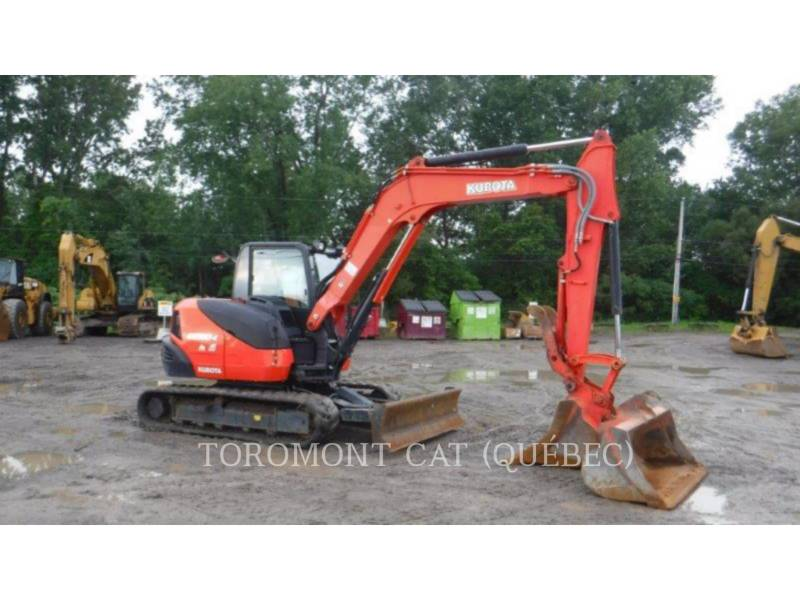 KUBOTA CORPORATION PELLES SUR CHAINES KX080-4 equipment  photo 1