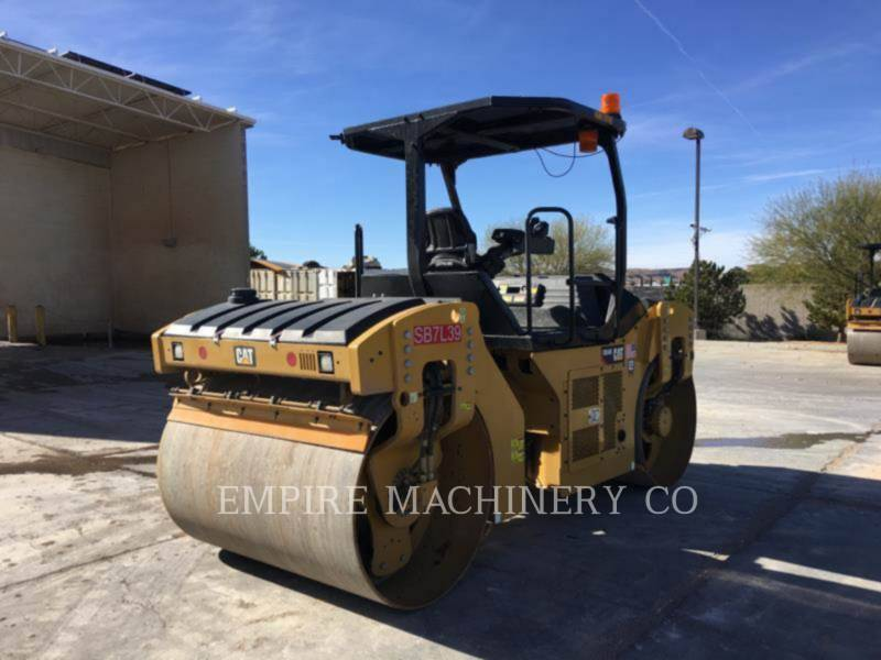 CATERPILLAR VIBRATORY DOUBLE DRUM ASPHALT CB54B equipment  photo 4