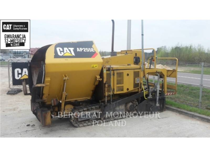 CATERPILLAR ASPHALT PAVERS AP 255 E equipment  photo 1
