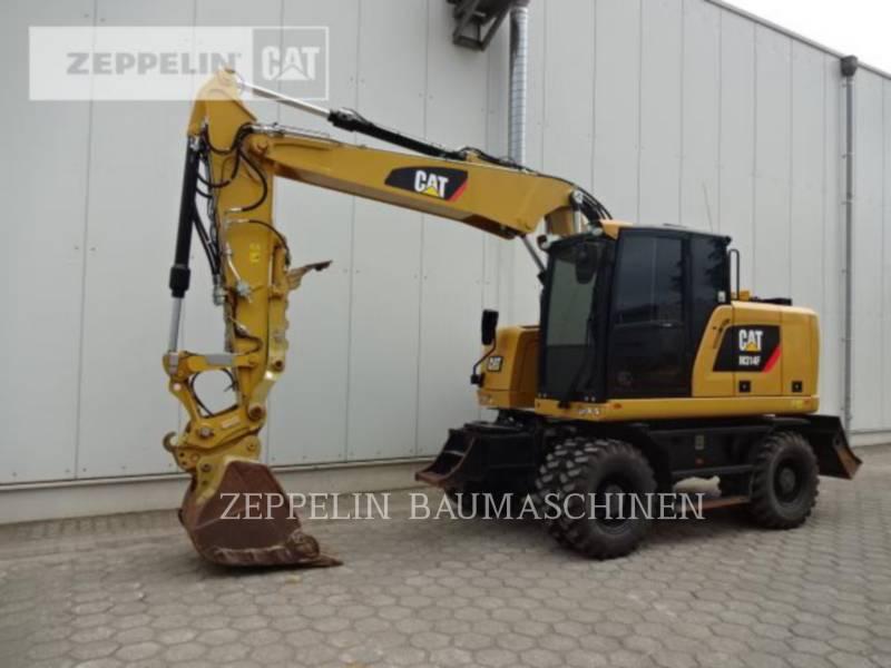CATERPILLAR PELLES SUR PNEUS M314F equipment  photo 1