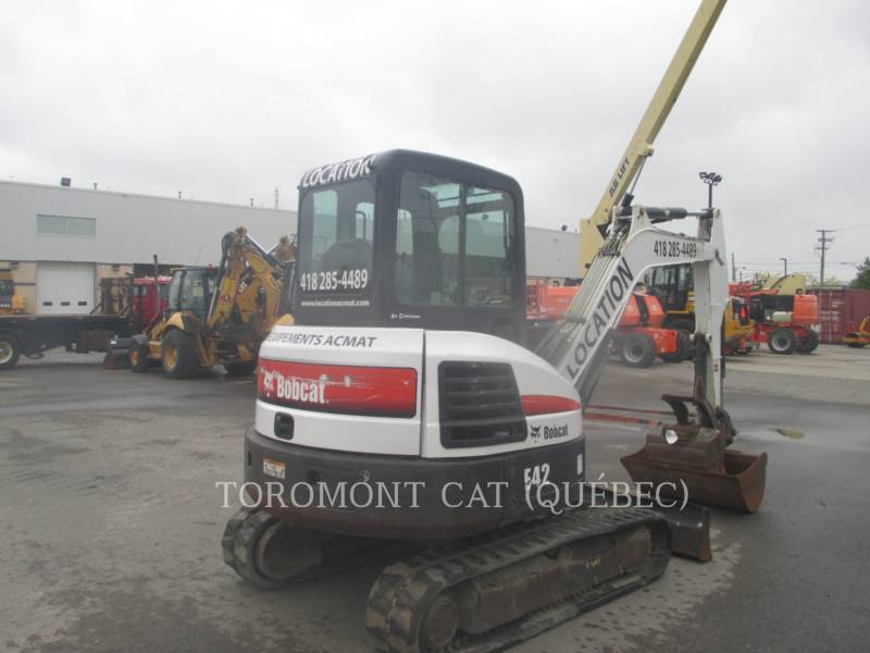BOBCAT TRACK EXCAVATORS E42 equipment  photo 3