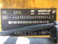 CATERPILLAR SKID STEER LOADERS 232 D equipment  photo 14